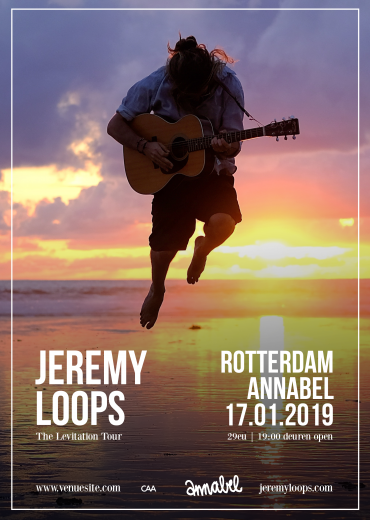 Jeremy Loops Annabel Rotterdam 17 januari