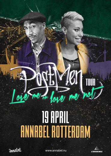 Postmen Annabel Rotterdam Tour