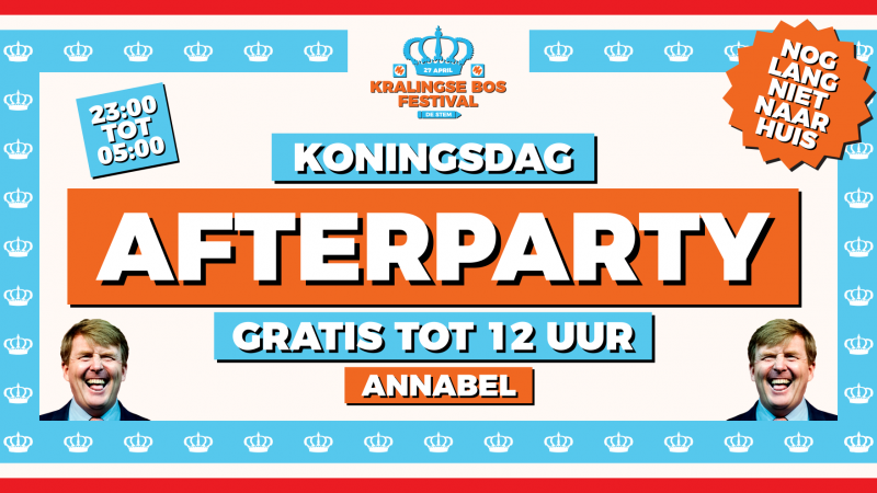 Kralingse Bos Festival Afterparty