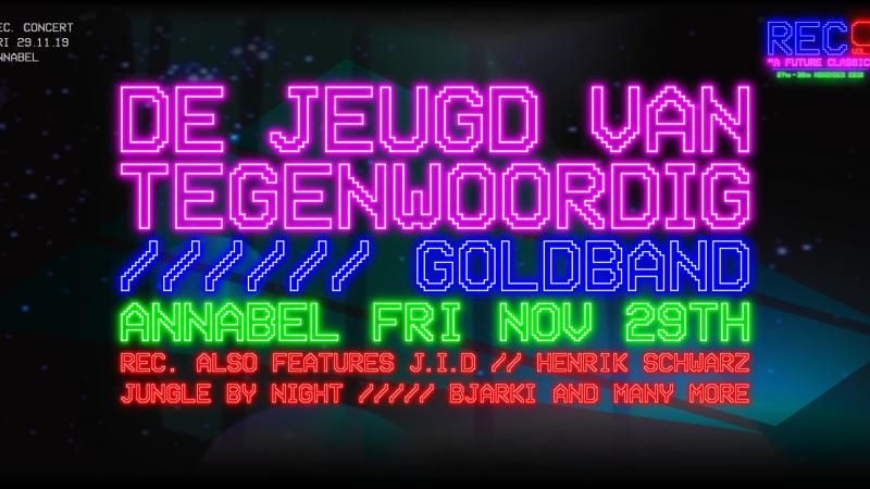 De Jeugd van Tegenwoordig Goldband REC Festival Annabel