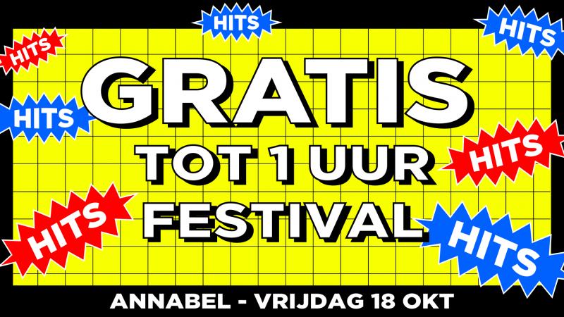 gratis festival annabel rotterdam